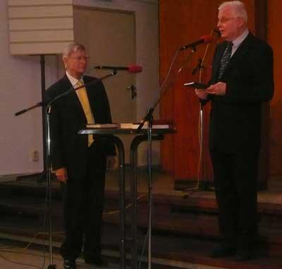 Herbert Blomstedt und Reinhard Rupp