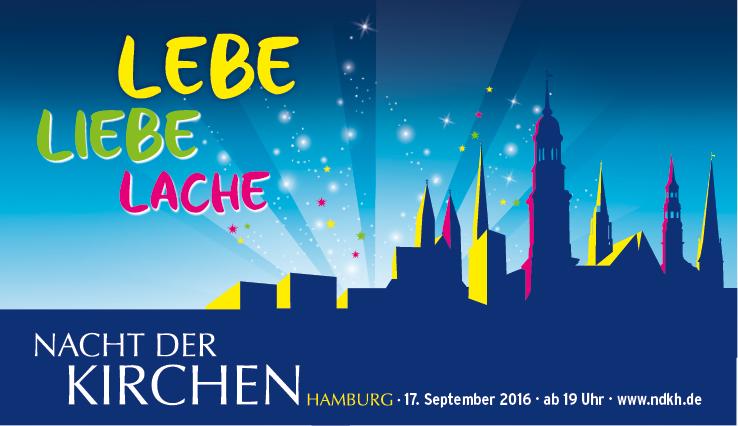 Motto Nacht der Kirchen 2015 in Hamburg