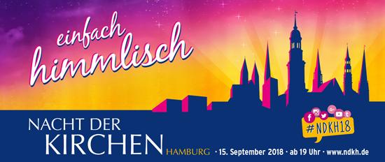 Motto Nacht der Kirchen 2018 in Hamburg